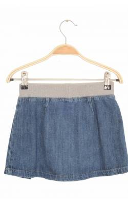 Fusta cloche din denim Benetton, 8 ani