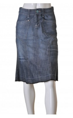 Fusta din denim stretch Dranella, marime S