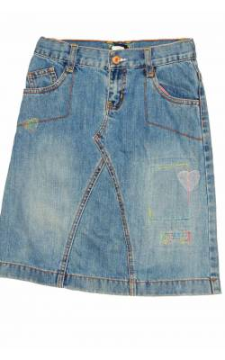 Fusta denim Gap Kids, 6 ani Regular
