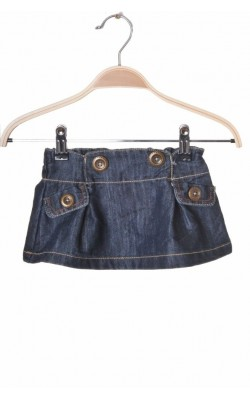 Fusta denim Next, 3-6 luni, maxim 8 kg