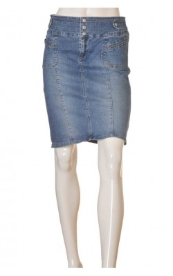 Fusta denim United Colors of Benetton, marime 36