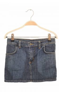 Fusta dreapta denim stretch, 9-10 ani