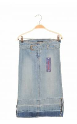Fusta dreapta Polo Sur denim stretch,  12-14 ani