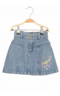 Fusta in clini denim subtire Disney, 4-5 ani
