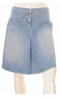 Fusta in clini din denim Benetton, marime 40