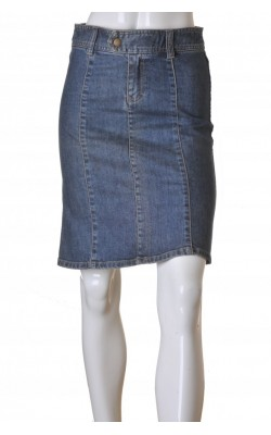 Fusta in clini din denim H&M, marime 34