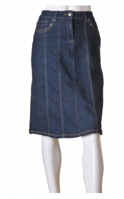 Fusta in clini din denim stretch Micha, marime 42