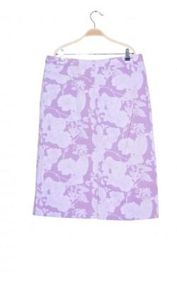 Fusta lavanda print floral Lindex, marime 44