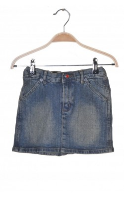 Fusta mini denim stretch Young Code, talie ajustabila, 11-12 ani
