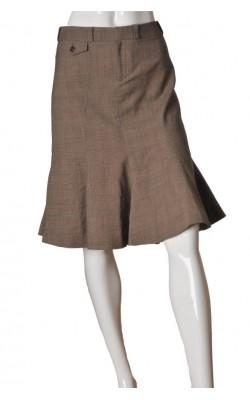 Fusta office Inwear, amestec lana, marime 40