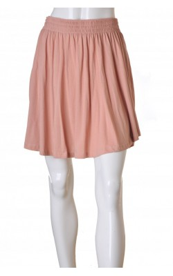 Fusta piersica H&M, model asimetric, marime L