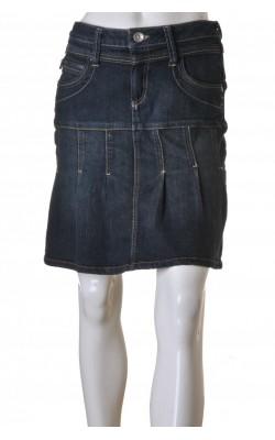 Fusta denim atretch Pulz Jeans, marime M