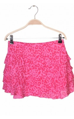Fusta roz animal print Miss E-vie, 12-13 ani