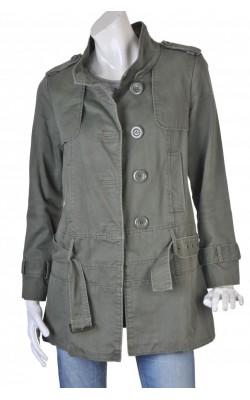 Trench verde militar Oasis, marime 38