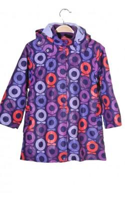 Geaca mov Katvig, captuseala jacheta fleece detasabila, 7-8 ani