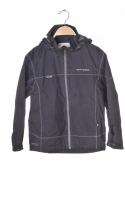 Geaca neagra impermeabila Northpeak Pro+Tech, 10 ani