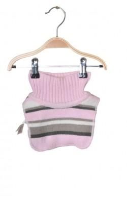 Guler roz H&M, captuseala fleece, 1-3 ani