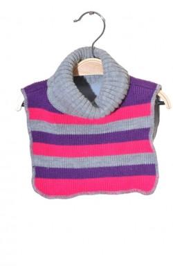 Guler tricot captusit cu fleece Cubus, 3-8 ani