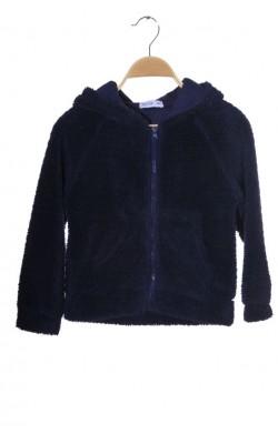 Hanorac mov fleece pufos Wow, 8-9 ani