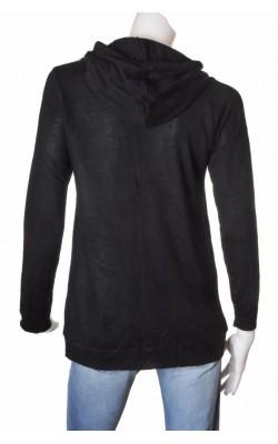 Hanorac negru tricotat Red Label, marime 36/38
