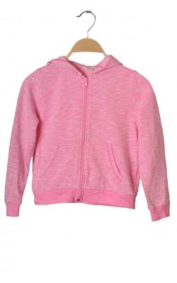 Hanorac roz molton H&M, 6-8 ani
