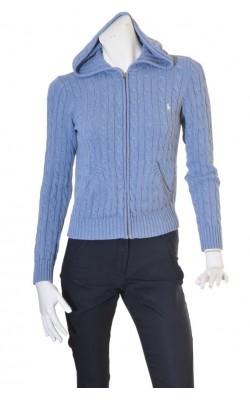 Hanorac tricot cu torsade Ralph Laure, marime 38