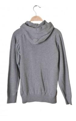 Hanorac tricot gri H&M, 12-14 ani
