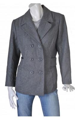Jacheta amestec lana By Ellos, marime 46