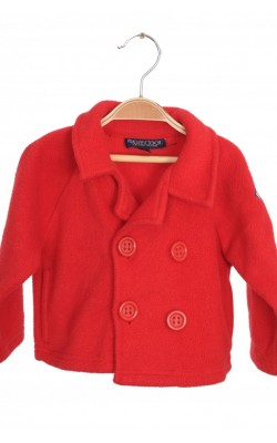 Jacheta rosie fleece Baby Cool, 3 luni