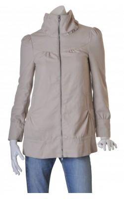 Jacheta bej din tesatura texturata Vero Moda, marime S