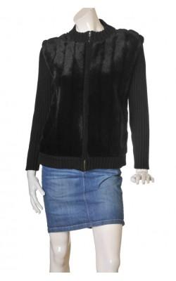 Jacheta blanita si tricot Segal, marime XL