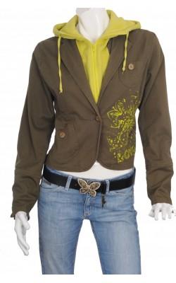 Jacheta cambrata Lene V. Jeans, marime XL