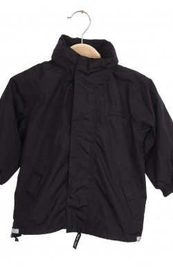Jacheta cu gluga fas negru Northfield, 2-3 ani
