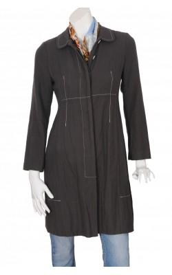 Jacheta din bumbac cu fir metalic Noa Noa, marime 36