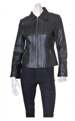 Jacheta din piele naturala Florence Bridge, marime M