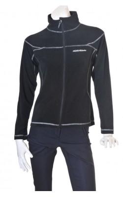 Jacheta fleece negru Norheim, marime M
