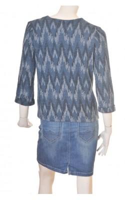 Jacheta H&M L.o.g.g., jerseu texturat, marime 38