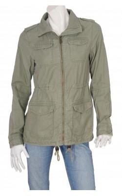 Jacheta inspiratie army din bumbac H&M, marime 40