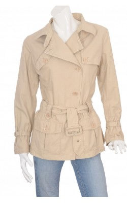 Trench cambrat InWear, impermeabil, marime 38