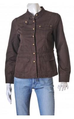 Jacheta maro din bumbac Vavite, marime 38