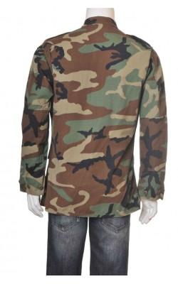 Jacheta militara, print camuflaj, marime S