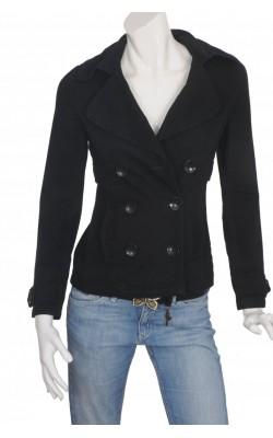 Jacheta neagra din bumbac Tally Weijl, marime S