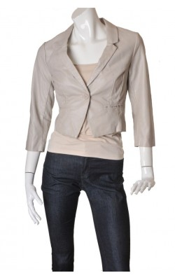 Jacheta piele sintetica H&M, marime 38