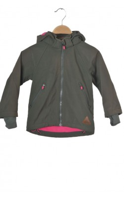 Jacheta softshell cu captuseala fleece H&M, 3-4 ani