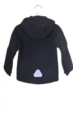 Jacheta softshell H&M, captuseala fleece, 5 ani