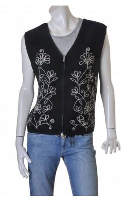 Jacheta stofa lana brodata Ze-Ze Clothing, marime XL