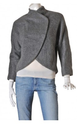 Jacheta tesatura amestec lana Weekday, marime 36
