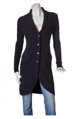 Jacheta tricot mov Inwear, amestec lana, marime 36/38