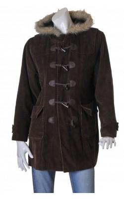 Jacheta vatuita din catifea reiata Popin, marime L