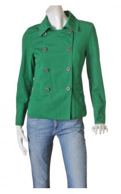 Jacheta verde cambrata H&M, marime 40